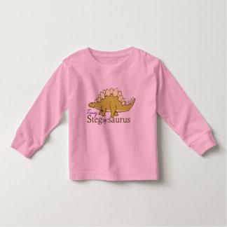 Tiny Stegosaurus Toddler T-shirt