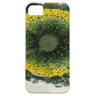 Tiny Sunflower Planet iPhone 5 Cover