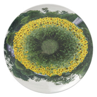 Tiny Sunflower Planet Plate