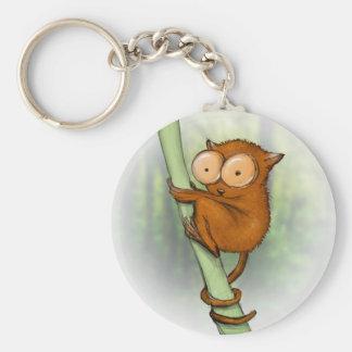 tiny tarsier keychain