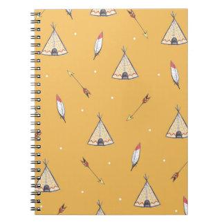 Tiny Teepees Notebooks