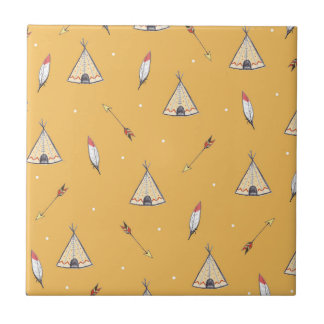 Tiny Teepees Tiles