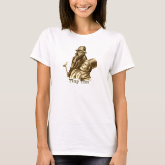 Tiny Tim and Bob Cratchit in A Christmas Carol T-Shirt