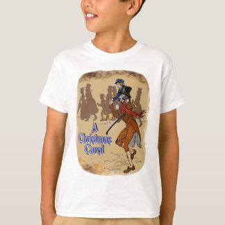 Tiny Tim on Bob Crachit's shoulder T-Shirt