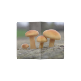 Tiny Toadstools Macro Notebook Cover