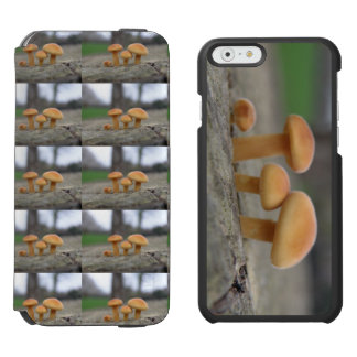 Tiny Toadstools Macro Phone Wallet Case Incipio Watson™ iPhone 6 Wallet Case