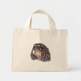 Tiny Tote with Max The Cavalier