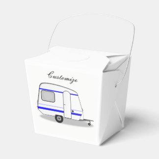 Tiny trailer gypsy caravan Thunder_Cove any color Favor Box