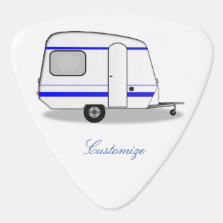 Tiny trailer gypsy caravan Thunder_Cove any color Guitar Pick