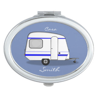 Tiny trailer gypsy caravan Thunder_Cove any color Mirror For Makeup