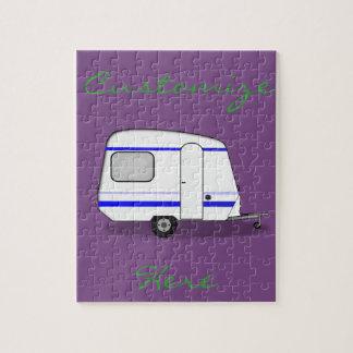 Tiny trailer gypsy caravan Thunder_Cove Jigsaw Puzzle