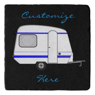Tiny trailer gypsy caravan Thunder_Cove Trivet