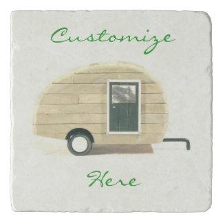tiny trailer gypsy travel caravan trivet