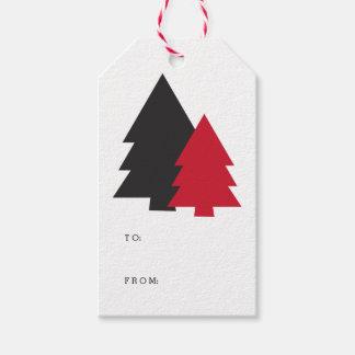 Tiny Trees Holiday Gift Tags