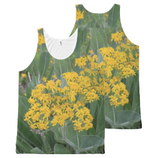Tiny Yellow Flowers All-Over-Print Tank Top