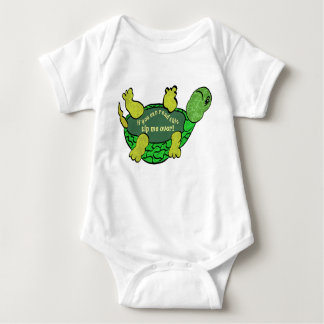 Tip me over Turtle Baby Bodysuit