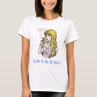 Tip Me- Smok'n (Spaghetti top) T-Shirt
