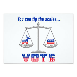Tip the Scales Vote Card