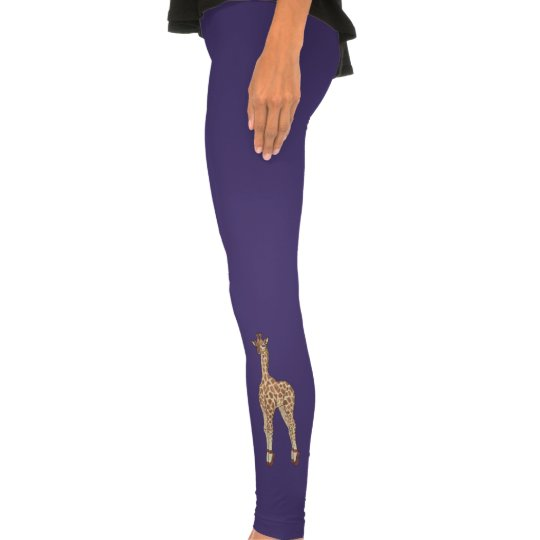 tip toe giraffe leggings