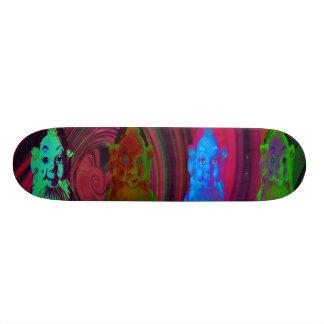 Tip Trippin' Gnomes Skateboard by Violet Tantrum