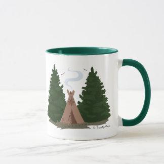 Tipi in the Woods Mug