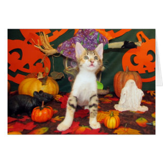 Tippy's Big Scare - Halloween Card
