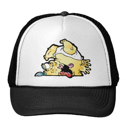 tipsy mesh hat