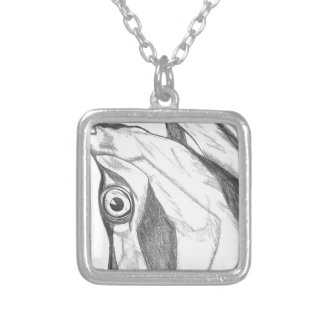 Tipsy Tarpon Silver Plated Necklace
