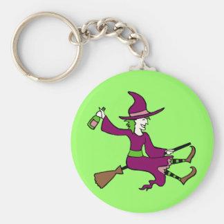 Tipsy Witch Keychain