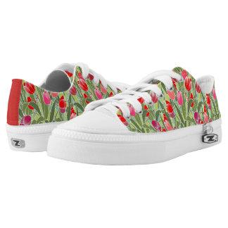 Tiptoe through the Tulips Low-Top Sneakers