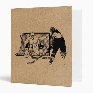 Tiré sur l'hockey net (femelle) classeurs 3 anneaux