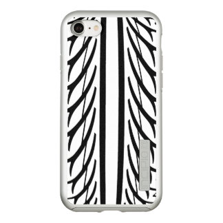Tire Texture Abstract Pattern Incipio DualPro Shine iPhone 8/7 Case