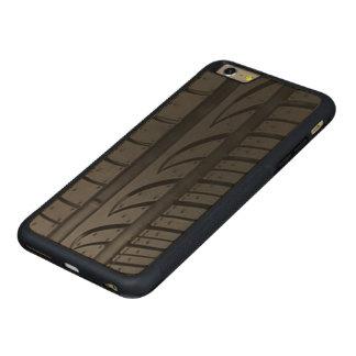 Tire Tread Carved Maple iPhone 6 Plus Bumper Case