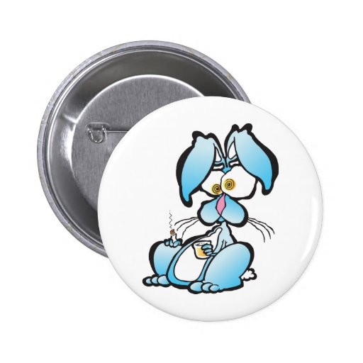 Tired Bunny Pins