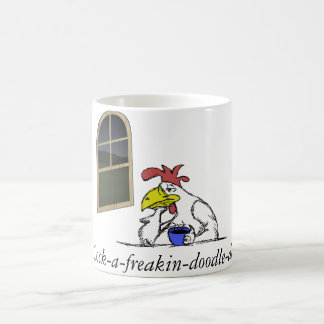 Tired Chicken Coffee Mug
