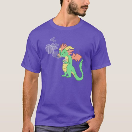 tired dragon (dark vers.) T-Shirt