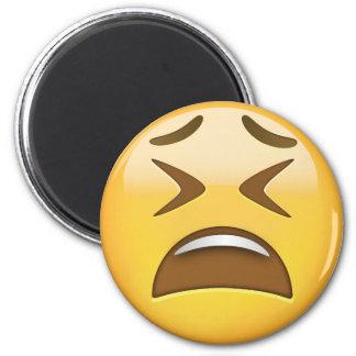 Tired Face Emoji Magnet