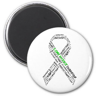 Tired of Lyme Support Magnet