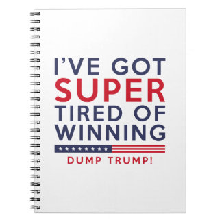 Tired Of Winning Note Book