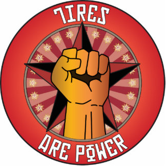 Tires Are Power Photo Cutout