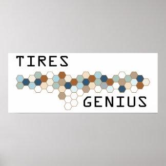 Tires Genius Poster