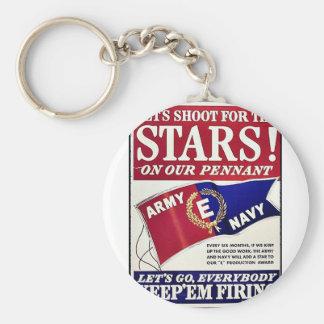 Tirons pour les étoiles sur notre fanion porte-clés
