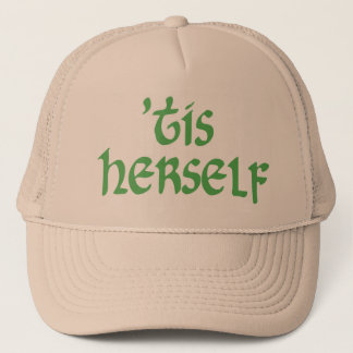 'tis herself hat