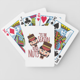 Tis The Season Bicycle Playing Cards