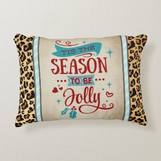 Tis the Season Christmas Accent Pillow