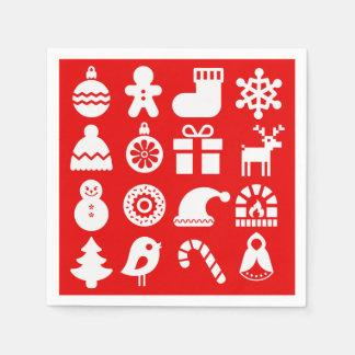 '''Tis the Season Christmas Napkin/Serviettes Disposable Napkin