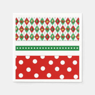 Tis The Season Christmas Party Paper Napkins