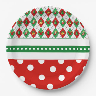 Tis The Season Christmas Party Paper Plates