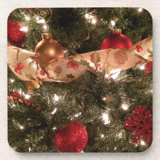 Tis the Season - Christmas Tree Coasters