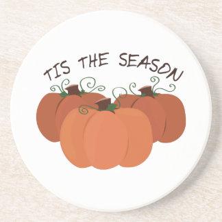 Tis The Season Beverage Coaster